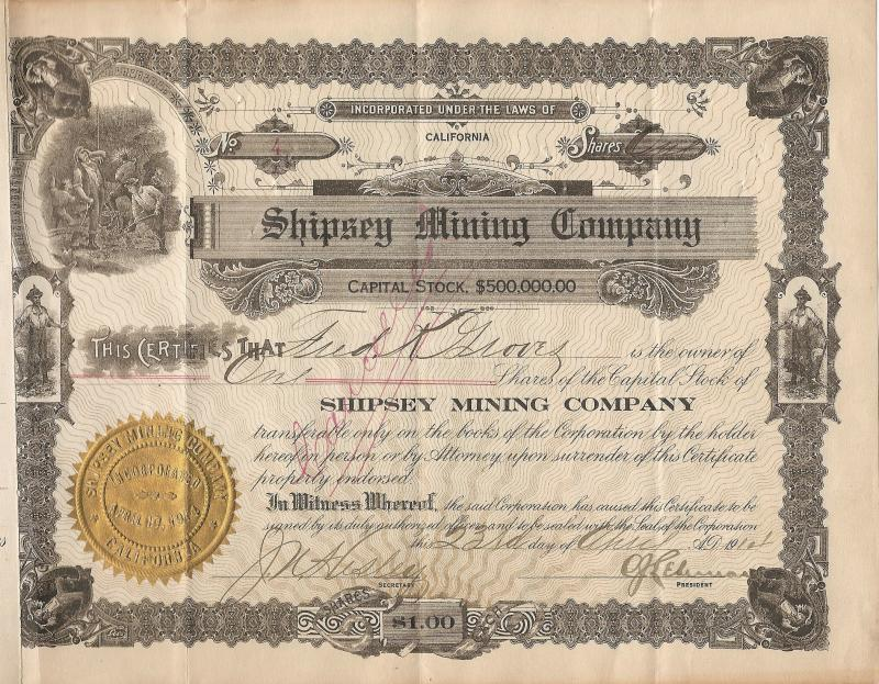 Shipsey Mining Co.
