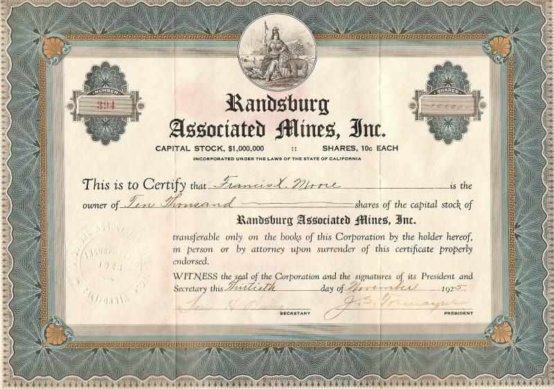 Randsburg Associated
